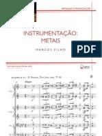 Instrumentação - Metais