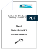 Student Guide Block1 No 1 - Industry Introduction