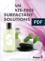 Stepan Sulfate Free Surfactant Solutions Guide
