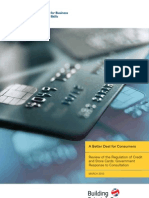 Review of the Regulation of Credit and Store Cards