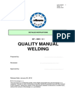 Sample of Welding Quality Manual