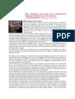 Intervention Tinouche Nazmjou Assises Internationales de l'Édition Indépendante