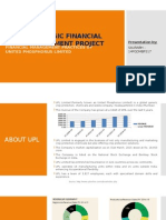FINANCIAL MANAGEMENT PRACTICES OF UPL LIMITED