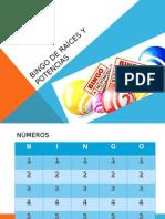 Bingo de Raíces y Potencias.pptx