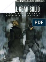 Metal Gear Solid Twin Snakes BradyGames Strategy Guide