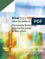 2015 Calgary's Vital Signs
