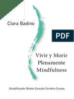 Libro Vivir y Morir Plenamente Mindfulness-Clara Badino