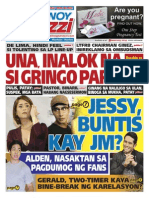 Pinoy Parazzi Vol 8 Issue 122 October 07 - 08, 2015