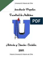Historia Universal Preuniversitario  Facultad de Medicina Universidad de Chiel