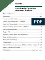 Saltwater Fish Pocket Guide