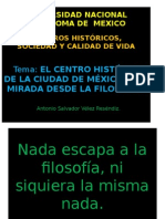 Exposición Dr. Antonio Velez