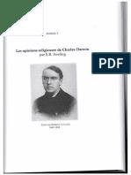 Les opinions religieuses de Darwin