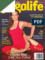 Ana Forrest in YogaLife Magazine 2015