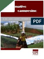 INFORMATIVO CAMPESINO - 250 - JULIO AGOSTO SETIEMBRE 2012 - CDE - PORTALGUARANI