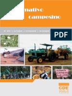 INFORMATIVO CAMPESINO - 251 - OCTUBRE NOVIEMBRE DICIEMBRE 2012 - CDE - PORTALGUARANI