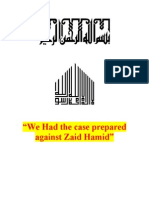 We Had the Case Prepared Against Zaid Hamid