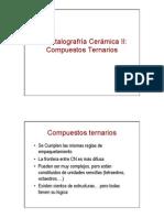 5 Cristalografría Cerámica II