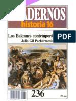 Cuadernos Historia 16 [serie 1985], nº 236 - Los Balcanes contemporáneos (I)