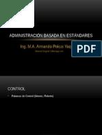 1 Administración Basada en Estándares CONTROL