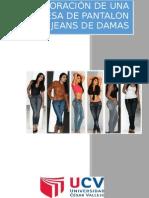 elaboracion de una empresa textil del jeans