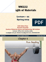 MM222 Strength of Material Lecture