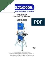 CharnwoodB250 Owners Manual