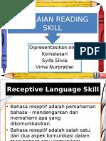 Penilaian Reading Skill