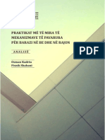 Praktikat më të mira të mekanizmave të pavarura për barazi në BE dhe rajon