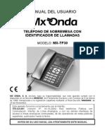 Mx-tf30 Teleffono Pepa