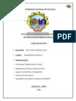 Informe de Riego Grupo 5