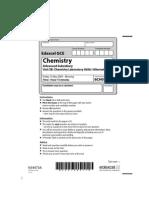Chemistry Jun 2009 Actual Exam Paper Unit 3