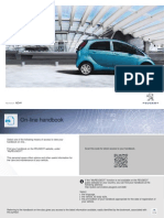 Peugeot IOn 2014 Owners Manual