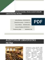 Presentasi Akustik Petra