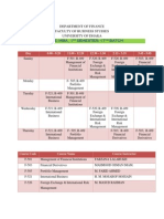 Class Time Table_MBA ( 1st Semester)