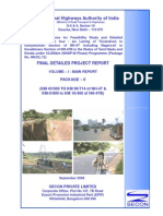 Project Report KL-TN Border _ Kanyakumari NH-47 & NH 47B. Cover