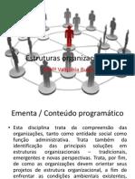 Aula 1 - Estruturas Organizacionais