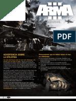 Arma3 Manual Sp juego
