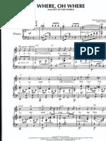 Cole Porter - Where Oh Where