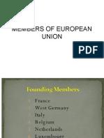 Members of European Union