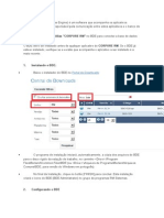 BDE - Instalação e Configuração
