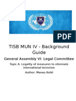 Legal BackgroundGuide
