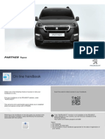 Peugeot Partner Tepee 2015 Owners Manual