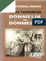 M. Ertuǧrul Düzdaǧ - Yakın Tarihimizde Dönmelik Ve Dönmeler-ZVI-Geyik (2002)