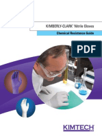 Resistance Guide for Kimberly Clark Nitrile Gloves