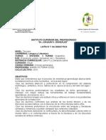Programa Latín IV 2015