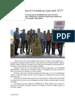 19.09.2014 Más Apoyo Para La Vivienda en Zona Rural EVV