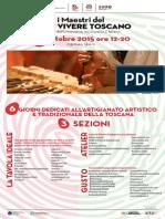 Programma I Maestri Del Buon Vivere Toscano