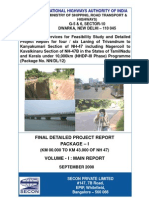 Project Report Tri Vend Rum _ KL-TN Border NH-47 Cover