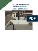 Manual Operacion y Mantenimiento de Planta Compacta