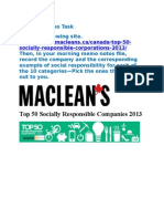 29  top 50 socially responsible companies 2013